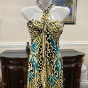 La belle snake patterned dress